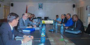Réunion de la commission mixte RIM-UE sur la pêche