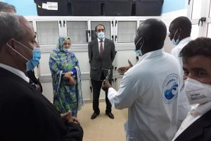 La Secrétaire Générale du Ministère des Pêches visite l'IMROP