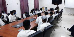 Visite à l'IMROP des étudiants de l'ISET de Rosso