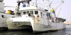 Campagne hydrologique pour la caractérisation des conditions du milieu dans la baie du Lévrier