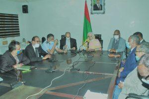 Réunion de suivi du Programme Appui Sectoriel de l'Union Européenne au MPEM