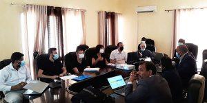 Visite d'Experts du Consortium Tragsa  pour la consolidation du système SSPAC de l'IMROP