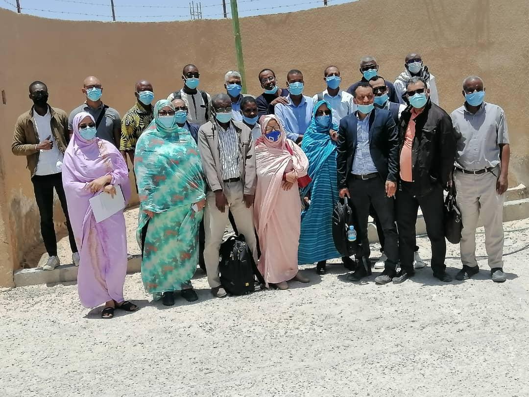 Atelier de formation des observateurs pour la collecte de données sur les prises accessoires d'oiseaux et de tortues de mer à bord des navires industriels en Mauritanie
